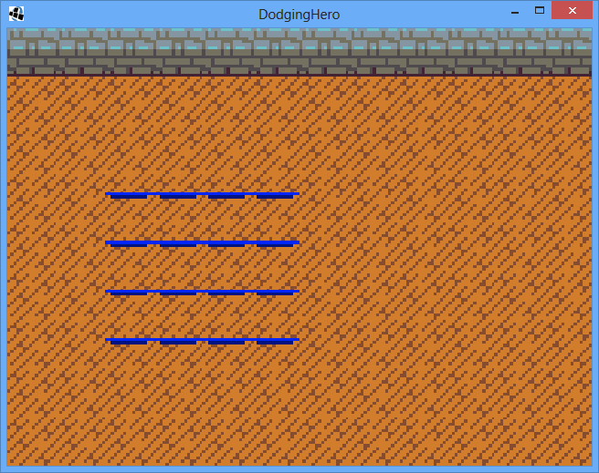 Tiles, first version